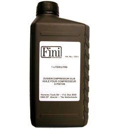 Luchtcompressor-olie
